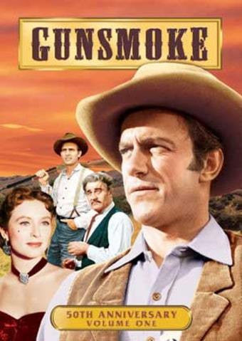 GUNSMOKE 50TH ANNIVERSARY VOL. 1 REGION 1 3DVD SET VG