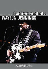 JENNINGS WAYLON-LIVE FROM AUSTIN TX DVD VG