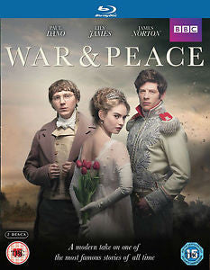 WAR & PEACE 2BLURAY VG