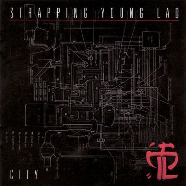 STRAPPING YOUNG LAD-CITY CD VG+