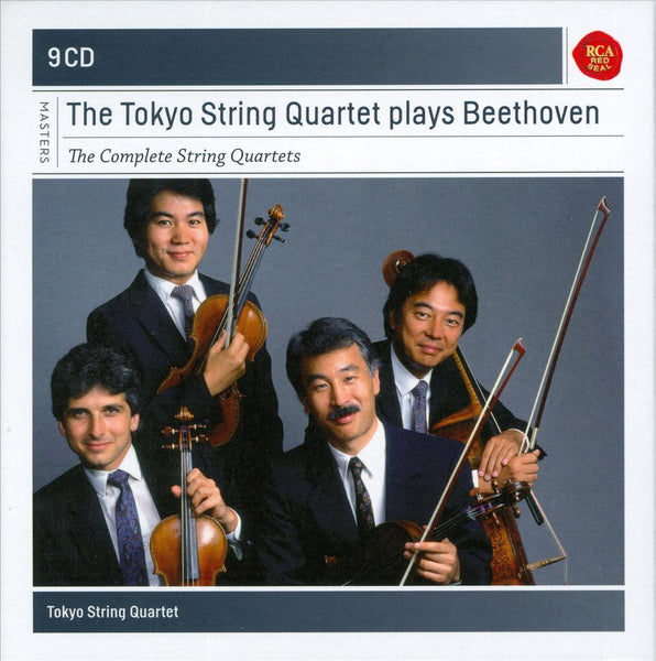 BEETHOVEN-THE TOKYO STRING QUARTET PLAYS BEETHOVEN 9CD VG