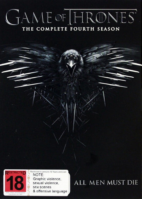 GAME OF THRONES-THE COMPLETE FOURTH SEASON 5DVD VG