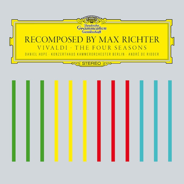 RICHTER MAX-VIVALDI THE FOUR SEASONS RECOMPOSED CD VG