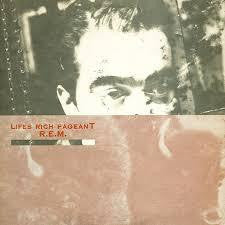 R.E.M.-LIFES RICH PAGEANT PROMO LP EX COVER VG