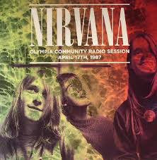 NIRVANA-OLYMPIA COMMUNITY RADIO SESSION LP NM COVER EX