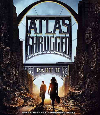 ATLAS SHRUGGED PART 1 BLURAY VG