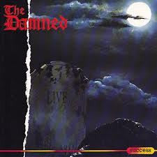DAMNED THE-LIVE CD VG