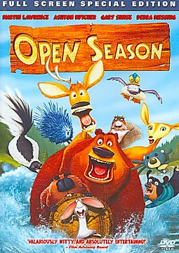OPEN SEASON DVD REGION 1 VG