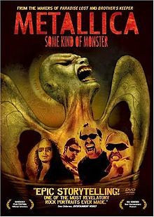 METALLICA-SOME KIND OF MONSTER 2DVD VG