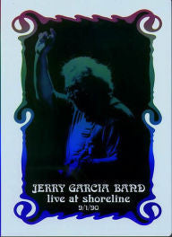 JERRY GARCIA BAND-LIVE AT SHORELINE DVD VG