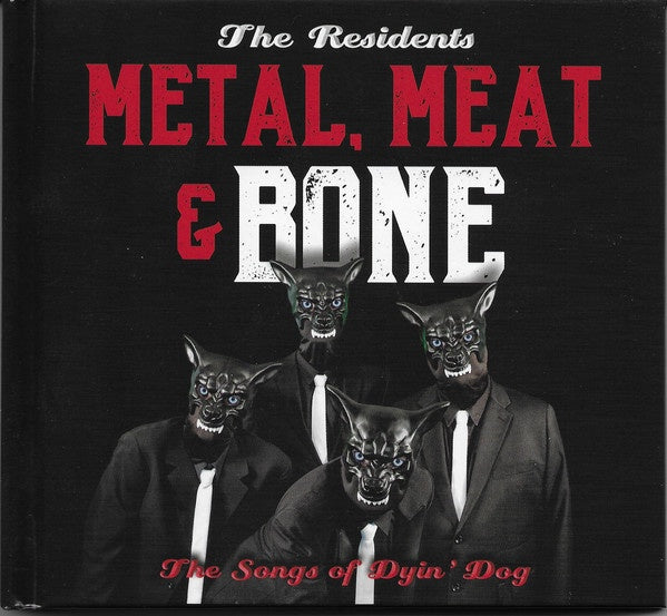 RESIDENTS THE-METAL, MEAT & BONE THE SONGS OF DYIN' DOG 2LP *NEW*