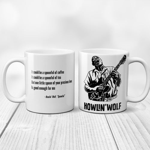 HOWLIN' WOLF-SPOONFUL MUG *NEW*