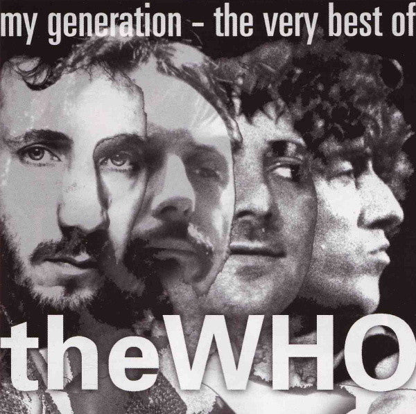 WHO THE-MY GENERATION THE VERY BEST OF CD VG