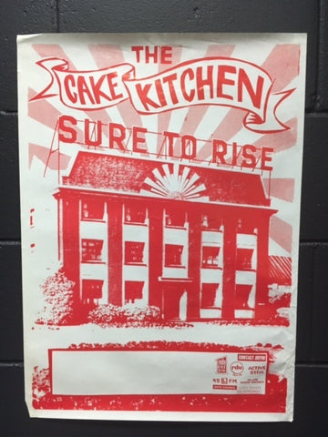 CAKE KITCHEN THE-SURE TO RISE ORIGINAL GIG POSTER