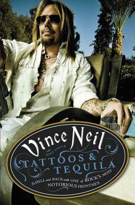 NEIL VINCE-TATTOOS & TEQUILA BOOK VG+
