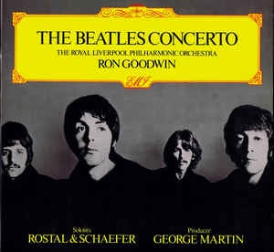 BEATLES THE-THE BEATLES CONCERTO GOODWIN LP VG+ COVER VG+