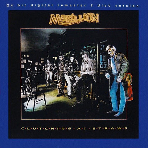 MARILLION-CLUTCHING AT STRAWS 2CD VG+