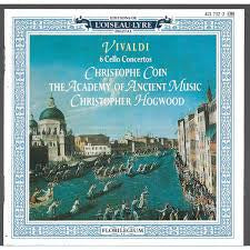 VIVALDI-6 CELLO CONCERTOS ACADEMY OF ANCIENT MUSIC CD VG