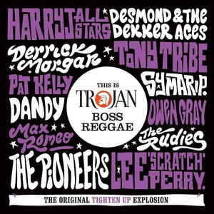 THIS IS TROJAN BOSS REGGAE-VARIOUS ARTISTS 2CD *NEW*