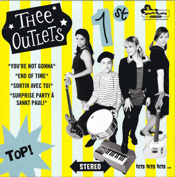 THEE OUTLETS-1ST 7 INCH EP *NEW*