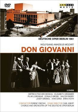 MOZART-DON GIOVANNI DEUTSCHE OPER 2DVD *NEW*