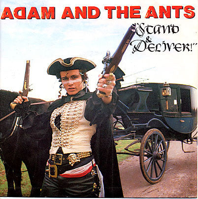 ADAM AND THE ANTS-STAND AND DELIVER 7INCH VG COVER VG