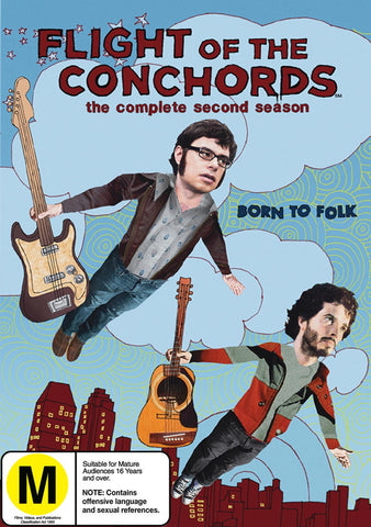 FLIGHT OF THE CONCHORDS-COMPLETE SECOND SEASON 2DVD VG