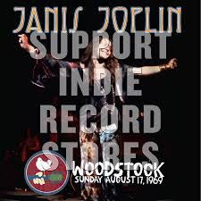 JOPLIN JANIS-WOODSTOCK SUNDAY AUGUST 17, 1969 2LP *NEW*