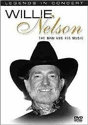 NELSON WILLIE-THE MAN & HIS MUSIC DVD VG+