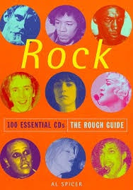 ROUGH GUIDE TO ROCK THE- BOOK VG