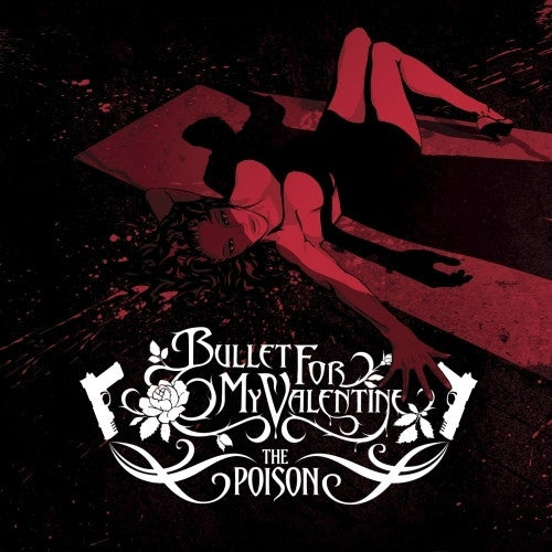 BULLET FOR MY VALENTINE-THE POISON CD VG