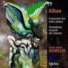 ALKAN-CONCERTO FOR SOLO PIANO + TROISIEME RECUEIL CHANTS CD VG