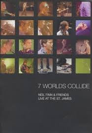 FINN NEIL & FRIENDS-7 WORLDS COLLIDE DVD VG