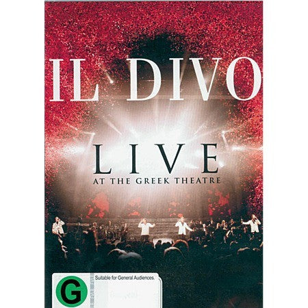 IL DIVO-LIVE AT THE GREEK THEATRE DVD G