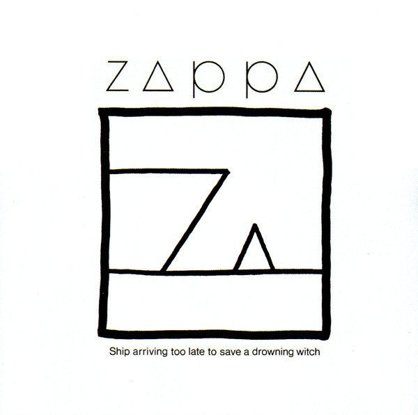 ZAPPA FRANK-SHIP ARRIVING TOO LATE CD G
