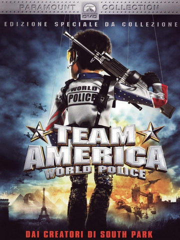 TEAM AMERICA WORLD POLICE DVD VG