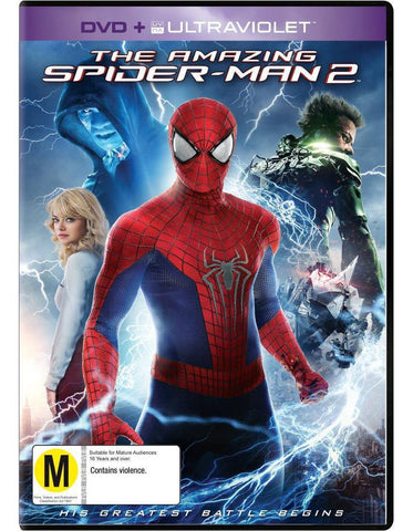 AMAZING SPIDERMAN-2 DVD VG