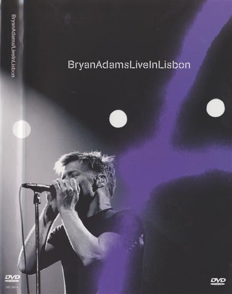 ADAMS BRYAN-LIVE IN LISBON DVD VG