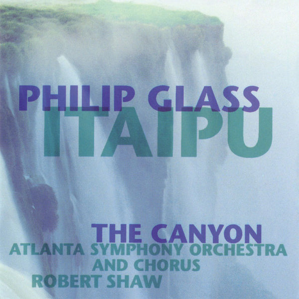 GLASS PHILIP-ITAIPU / THE CANYON 2LP *NEW*