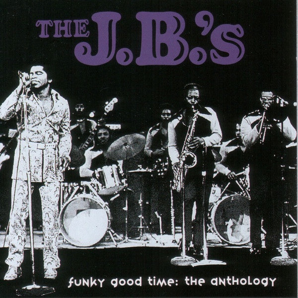 JB'S THE-FUNKY GOOD TIME: THE ANTHOLOGY 2CD VG