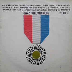 JAZZ POLL WINNERS-VARIOUS ARTISTS LP VG COVER VG
