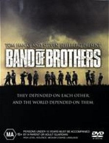BAND OF BROTHERS 6DVD VG