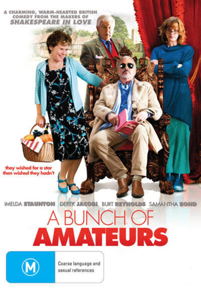 A BUNCH OF AMATEURS DVD VG
