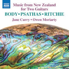 MUSIC FROM NEW ZEALAND FOR TWO GUITARS-VARIOUS BODY/ PSATHAS/ RITCHIE CD *NEW*