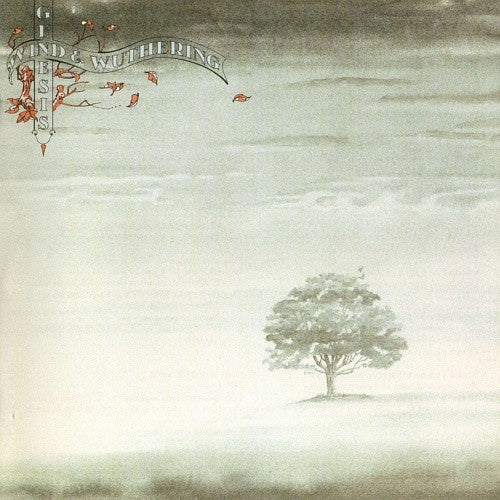 GENESIS-WIND AND WUTHERING LP VG+ COVER G