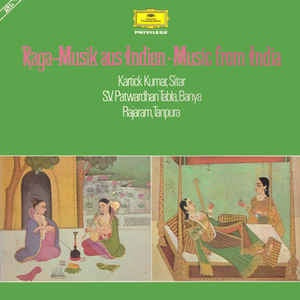 KUMAR KARTICK/ S.V. PATWARDHAN/ RAJARAM-RAGa MUSIK AUS INDIEN MUSIC FROM INDIA 2LP VG+ COVER VG+