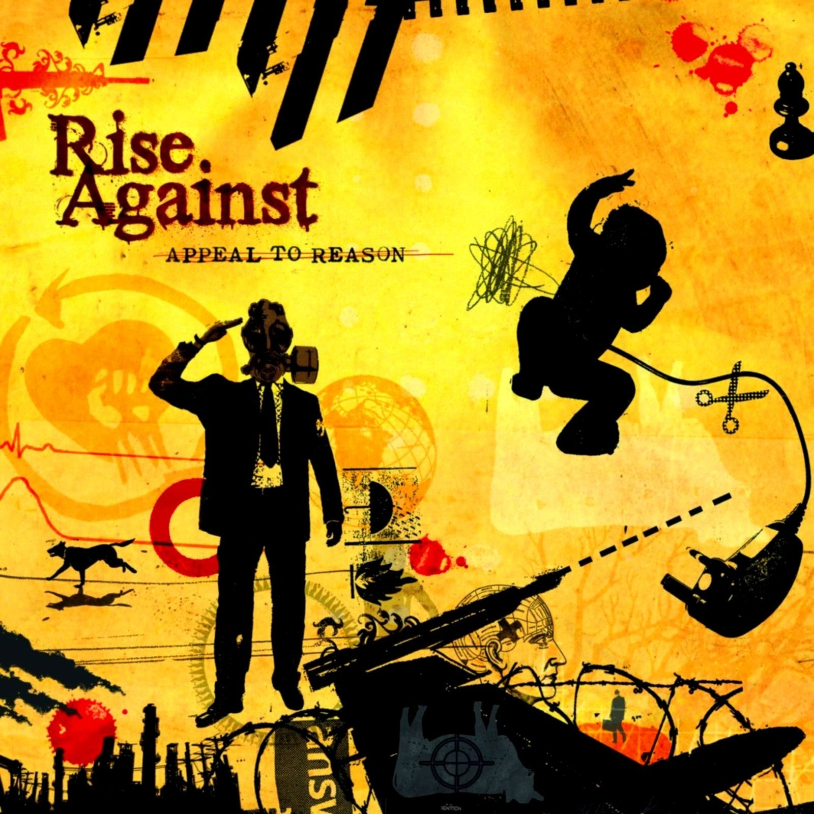 RISE AGAINST-APPEAL TO REASON LP *NEW*