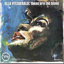 FITZGERALD ELLA-THESE ARE THE BLUES LP VG+ COVER VG+
