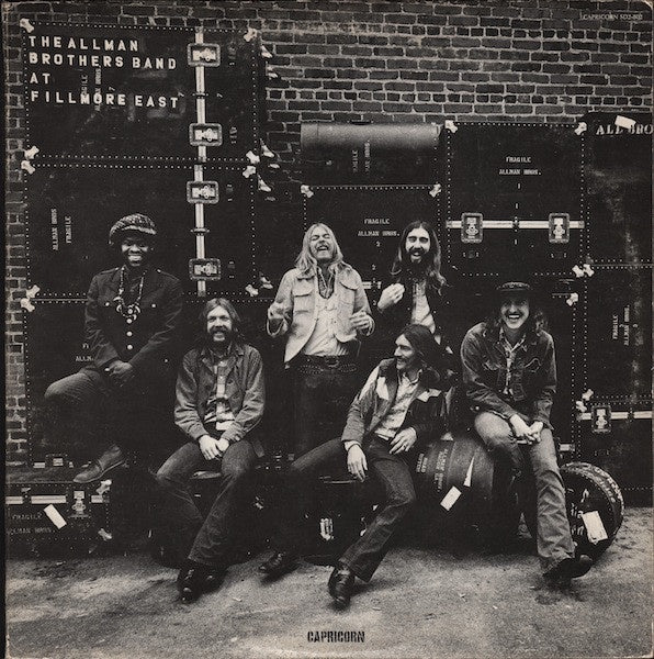 ALLMAN BROTHERS BAND THE-AT FILLMORE EAST CD VG