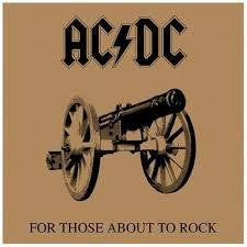 AC/DC-FOR THOSE ABOUT TO ROCK CD *NEW*